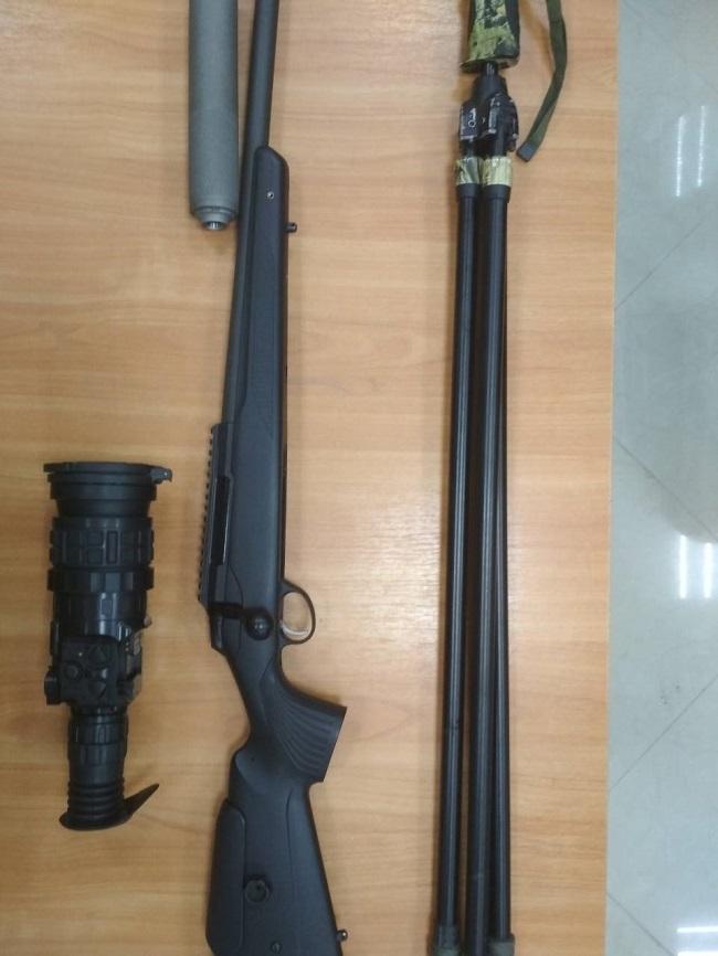 Двух охотников задержали пограничники Измаильского пограничного отряда