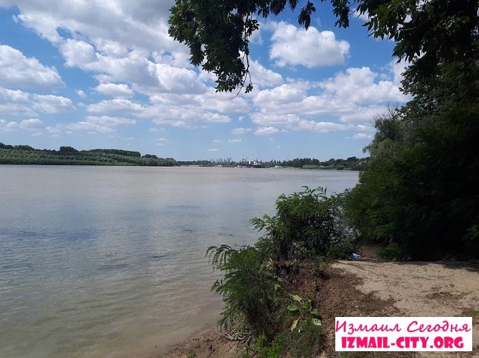 На Дунае в Измаиле утонул мужчина