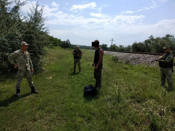 Измаильские пограничники не позволили незаконно пересечь границу иностранцу