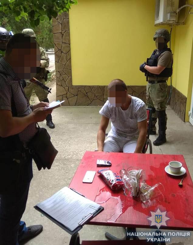 В Измаиле правоохранители задержали мужчину подозреваемого в вымогательстве