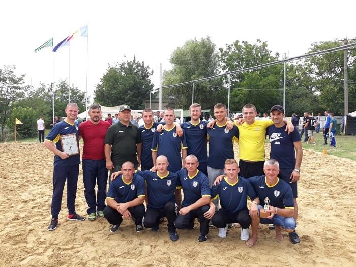 Измаильские пограничники заняли 3 место в соревнованиях по пляжному футболу в Молдове