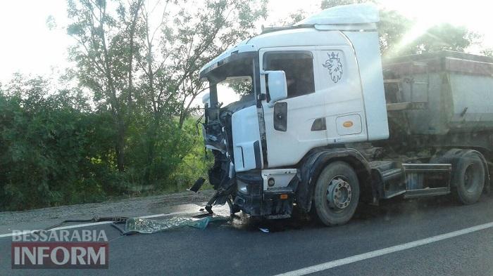 на трассе Одесса-Рени произошло смертельное ДТП.