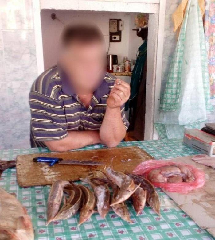 Благодаря сообщению на «горячую линию» разоблачен нарушитель с краснокнижной рыбой