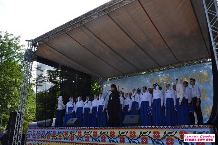 1 июля в Измаиле на площадке у Свято-Покровского собора состоялся православный концерт, посвященный 1030-летию крещения Киевской Руси.