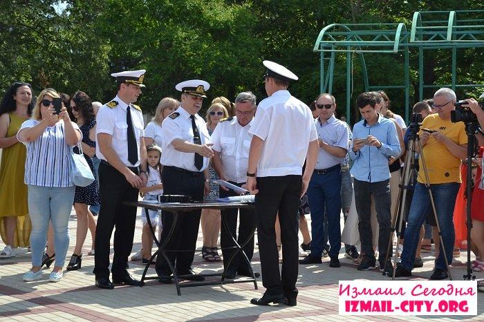 Дипломы будущим морякам Измаила