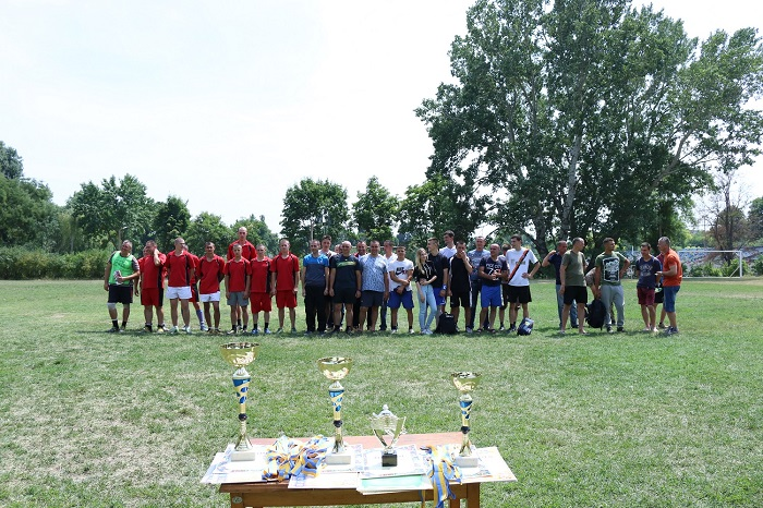 Измаильский погранотряд провел чемпионат по мини-футболу ко Дню Конституции Украины