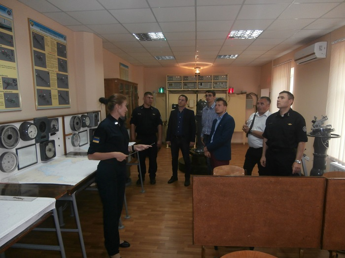 Украинские моряки-пограничники поделились опытом с коллегами из Румынии