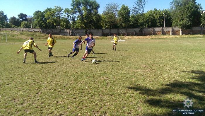 Подразделения полиции Одесской области начали турнир по мини-футболу