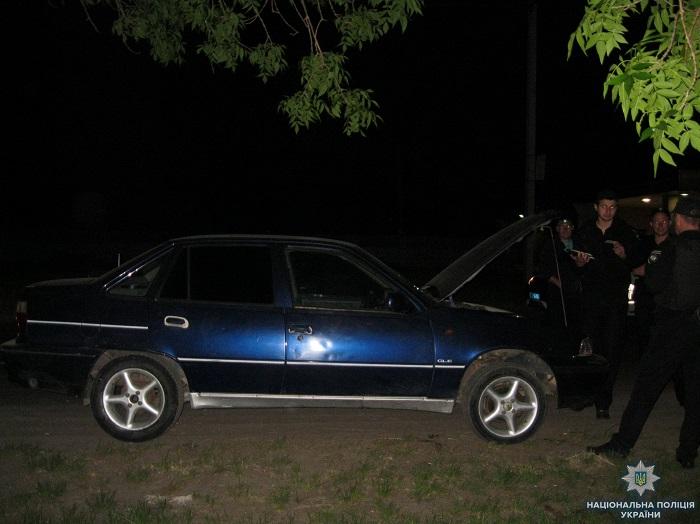 В Измаиле полицейские обнаружили автомобиль с поддельными номерами агрегатов