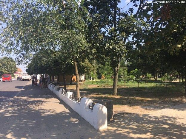 ограда Покровского собора Измаил