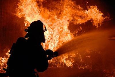 В Измаиле загорелся склад