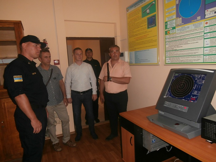 Измаильский учебно-тренировочный отряд морской охраны посетили коллеги из Румынии