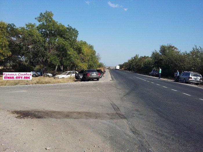 ДТП на трассе Одесса Рени
