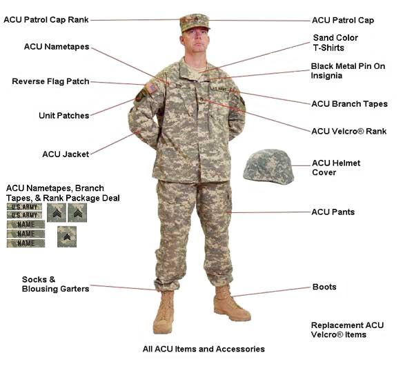военная форма из США