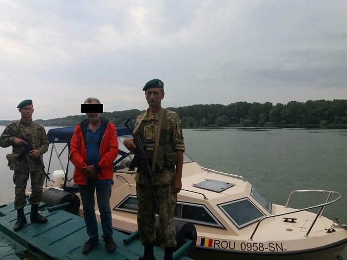 нарушитель границы Дунай