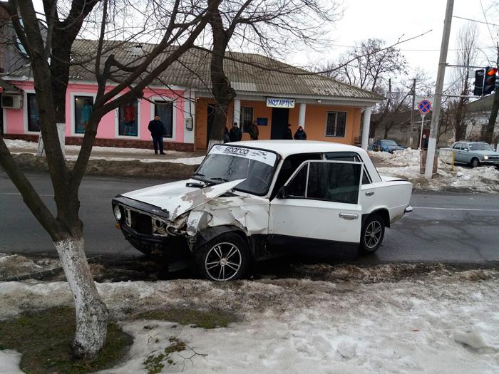 ДТП в Измаиле. ВАЗ-Волга