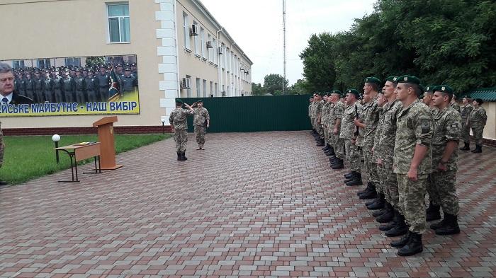 В Измаильский отряд для дальнейшего прохождения службы прибыли офицеры-выпускники