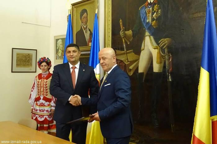 Подписано Соглашение о сотрудничестве между Измаилом и уездом Тулча (Румыния)