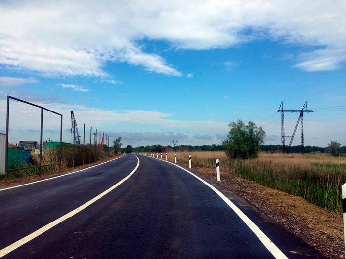 На трассе Одесса – Рени открыт для проезда участок в объезд ремонтируемого моста в Паланке