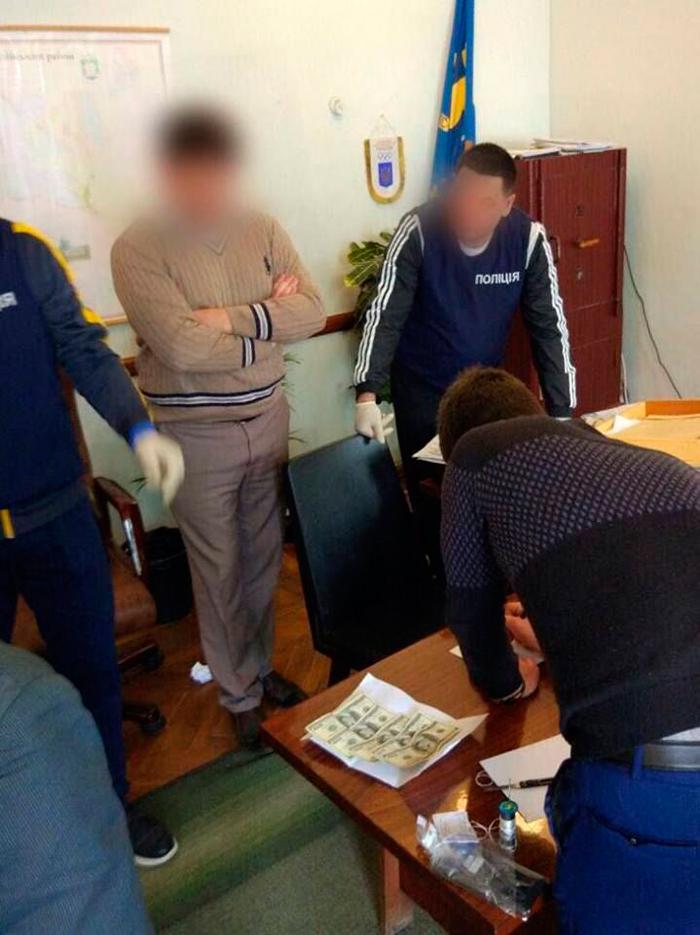 Глава Килийской РГА попался на взятке в $2,3 тыс. за землю вдоль Дуная