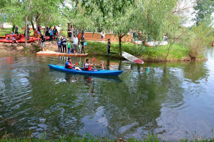 Первый открытый чемпионат города Измаила по гребному слалому