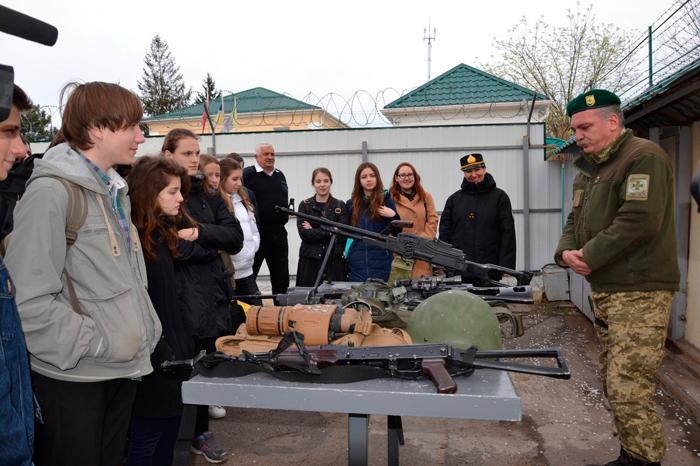 В Измаильском учебно-тренировочном отряде морской охраны и Измаильском пограничном отряде проходят дни открытых дверей