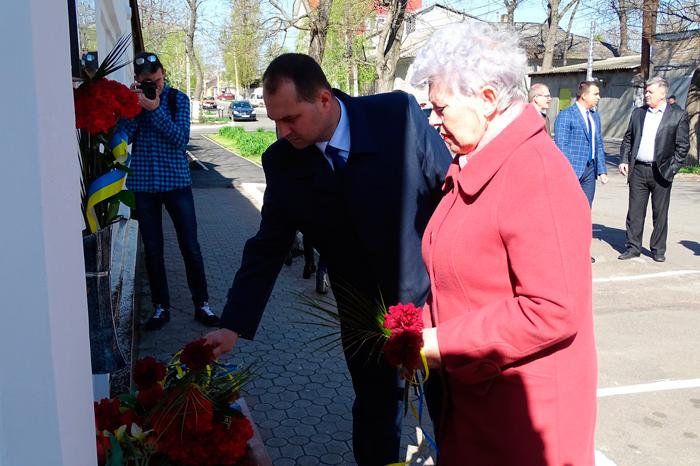 В городе почтили память погибших измаильчан еврейской национальности