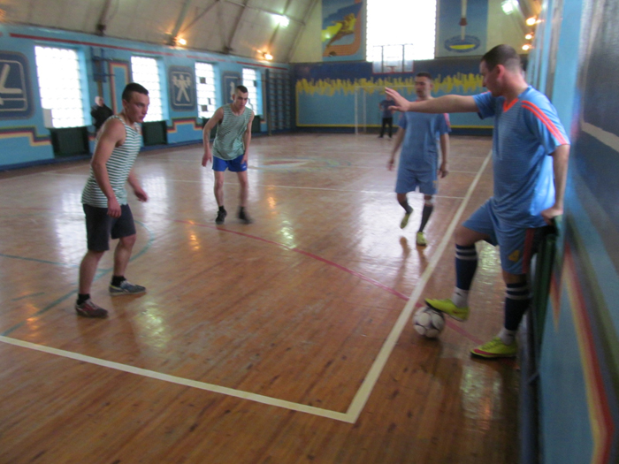В Измаильском отряде провели чемпионат, по мини-футболу