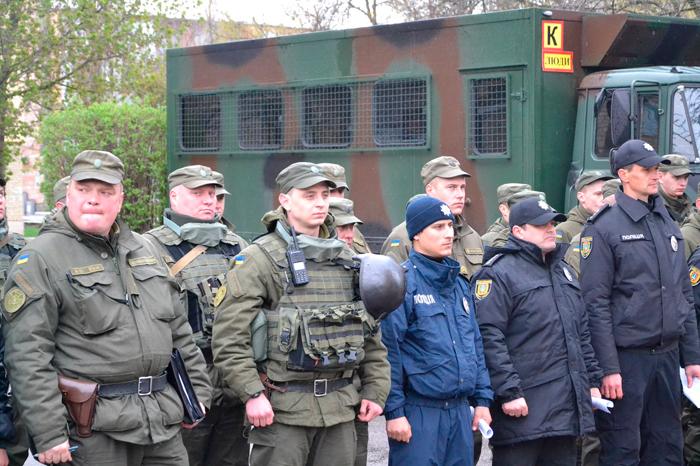 В Измаиле начинается набор на службу в Национальную гвардию
