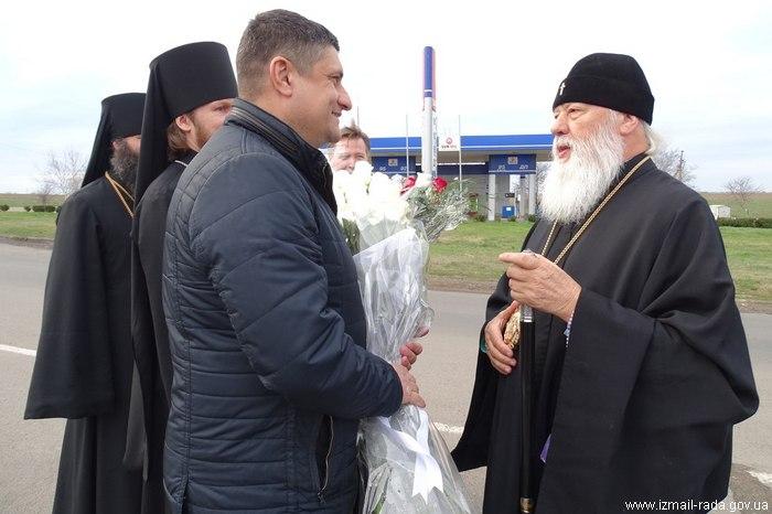 В Измаил прибыл митрополит Агафангел