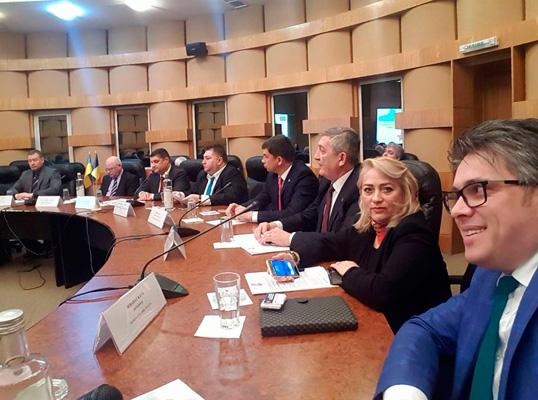 Измаил и Союз двухсторонних торговых палат Румынии - партнеры
