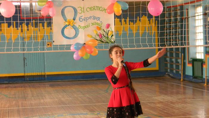 Международный женский день в Измаильском погранотряде