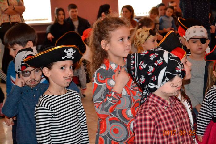 В Измаиле веселились маленькие пираты