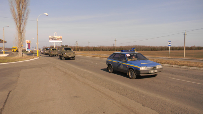 Автопарк Измаильского пограничного отряда пополнился современными бронемашинами КРАЗ «Кугуар»
