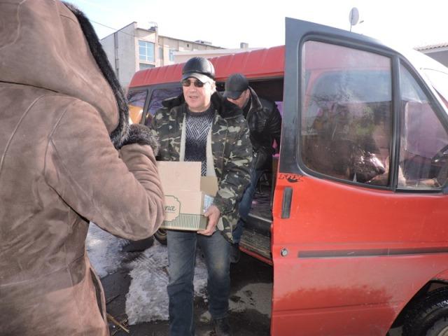 помощь в Авдеевку