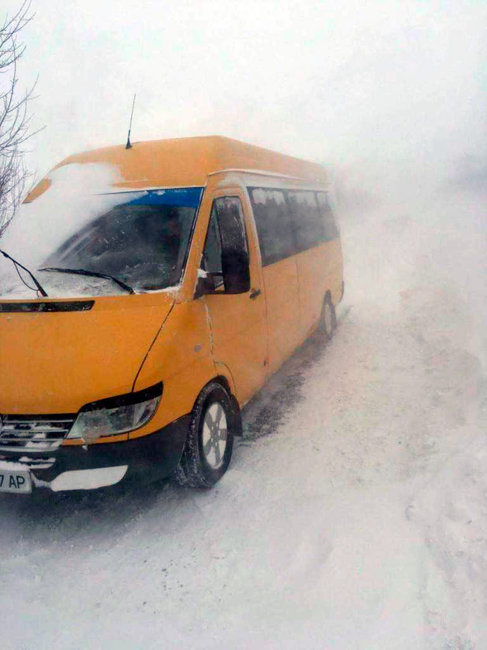 снежный плен трасса