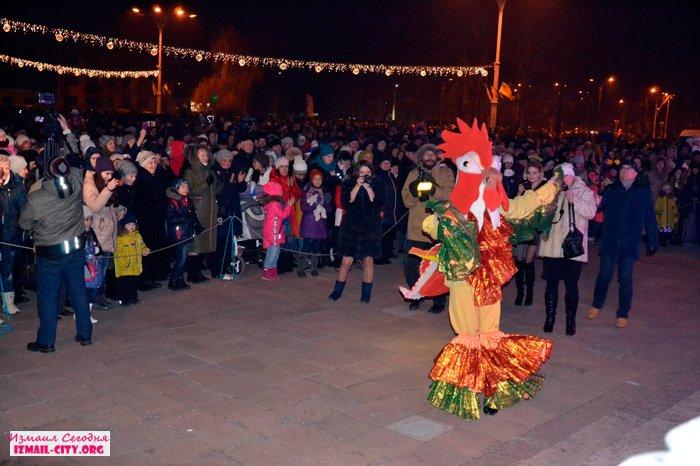 Новый год 2017 в Измаиле