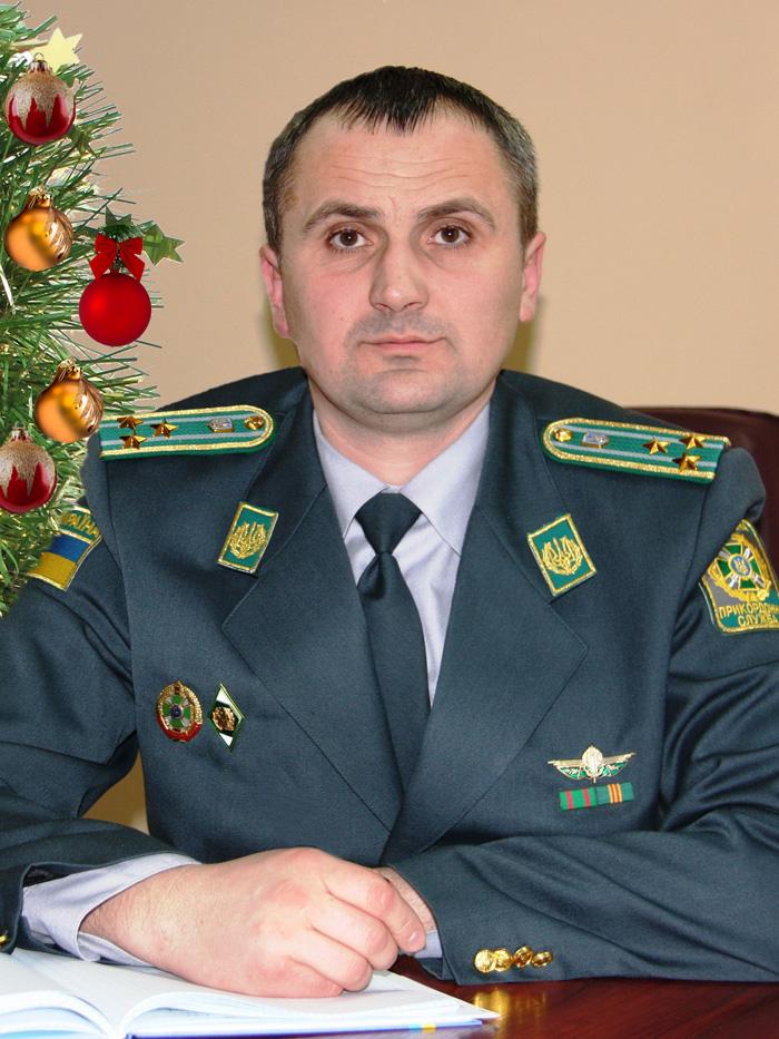 Командир Ізмаїльського прикордонного загону, підполковник Володимир Зуб