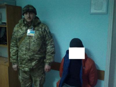 Пограничники Измаильского отряда задержали грабителя банка