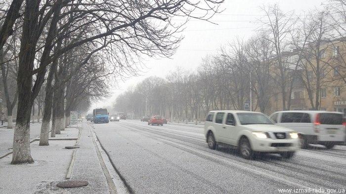 зима в Измаиле