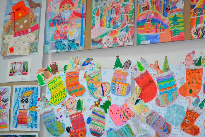 «Рождественская сказка» в Измаильской картинной галерее