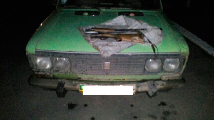 Пограничники Измаильского отряда во время несения службы в контролируемых пограничных районах изъяли охотничьи ружья и подстреленную дичь