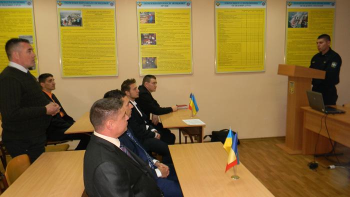 В Измаильский учебно-тренировочный отряд морской охраны прибыли на обучение коллеги из Республики Румыния