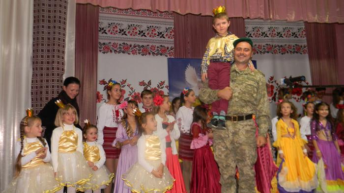 Пограничников Измаильского отряда поздравляли с Днем защитника Украины