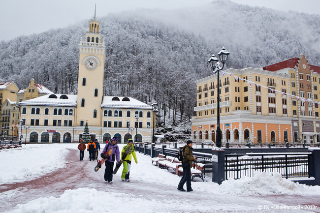 Роза Хутор и другие избранные места зимнего отдыха