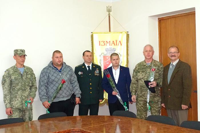В Измаиле наградили воинов АТО