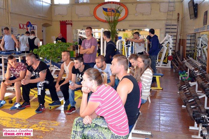 В Измаиле состоялся турнир по жиму штанги лежа