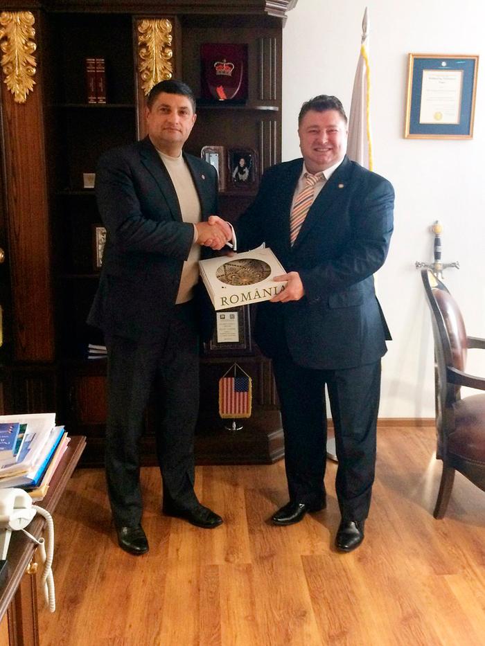 Мэр Измаила посетил Румынию с целью налаживания двусторонних отношений