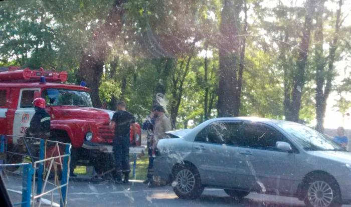 Вчера, 28 сентября, в Измаиле произошло ДТП с участием автомобиля ГСЧС.