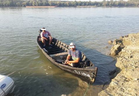 Задержание румынов на Дунае